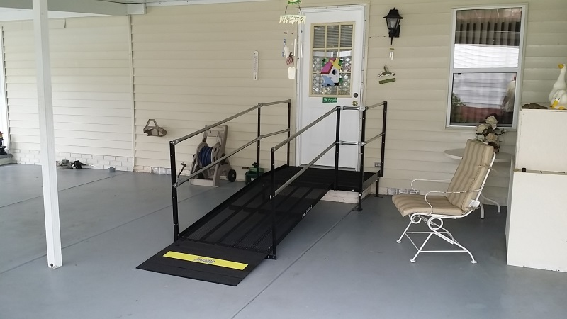 Wheelchair Ramps Available For